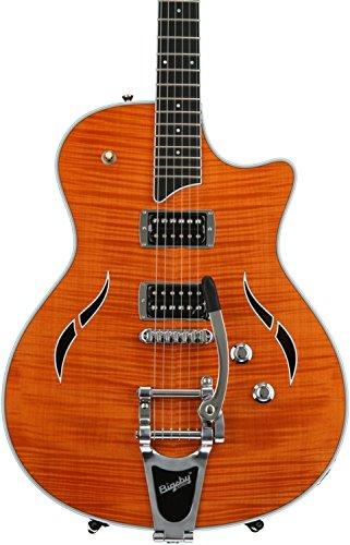 Taylor Guitars JB-T3 Semi Hollow Electric Guitar, Orange