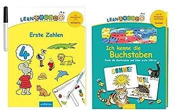 Aprendizaje oruga - primera Números + Ich Kenne las letras: Amazon ...