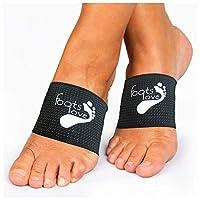 Foots Love ❤ Plantar Fasciitis - Soportes de arco de compresión con infusión de cobre - Mangas de pie para hombres y mujeres - ¡Sin duda lo mejor que puedes conseguir! - ¡Detén el dolor en el arco y el talón, comenzamos la tendencia!