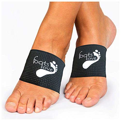 Foots Love.  Plantar Fasciitis Arch Support - Compression Copper Braces/Sleeves. Recommend for Flat Feet, Heel Spurs and High Arch Pain Relief. We Started The Trend and Still The Best