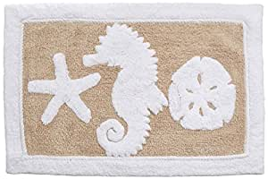 Amazon Com Avanti Linens Sea And Sand Bath Rug 20 Quot X 30