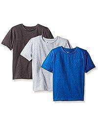 American Hawk - Camiseta de manga corta para niño (3 piezas, cuello redondo)