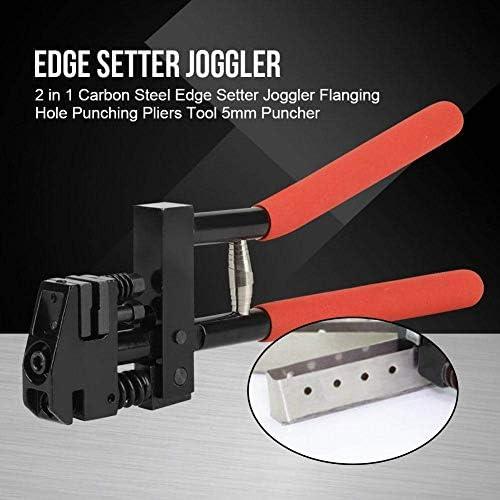 プライヤーツールホールパンチングプライヤー炭素鋼エッジセッタージョグラーパネルシートメタルフランジツール5mmホールパンチツールシートメタル修理用