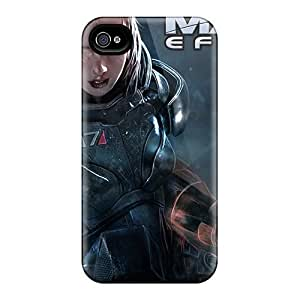 Hot Fashion Design Case Cover For Iphone 5/5s Protective Case (female Shepard In Mass Effect 3)