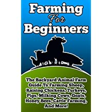 HOMESTEADING: Farming For Beginners (Animal Books, Food, Farming, Beekeeping, Animal Farm) (Breeding Animals, Backyard, Farming Books, Farming for Dummies, ... Agriculture Business, Mini Farming Book 1)