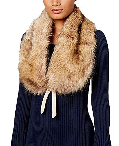 INC International Concepts Faux-Fur & Velvet Bow Stole from INC International Concepts