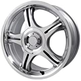 "Primax Wheel 333 Machined Silver Wheel (14x6""/4x114.3mm)"