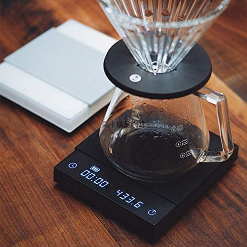Kitchen Scales Coffee Scale Smart Digital Scale Pour Coffee Electronic Drip Coffee Scale with Timer 2kg
