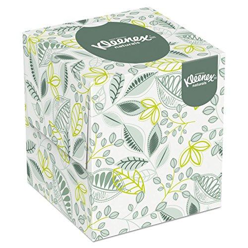 Kleenex 21272 Naturals Facial Tissue, 2-Ply, White, 95 Per Box (Case of 36 Boxes)