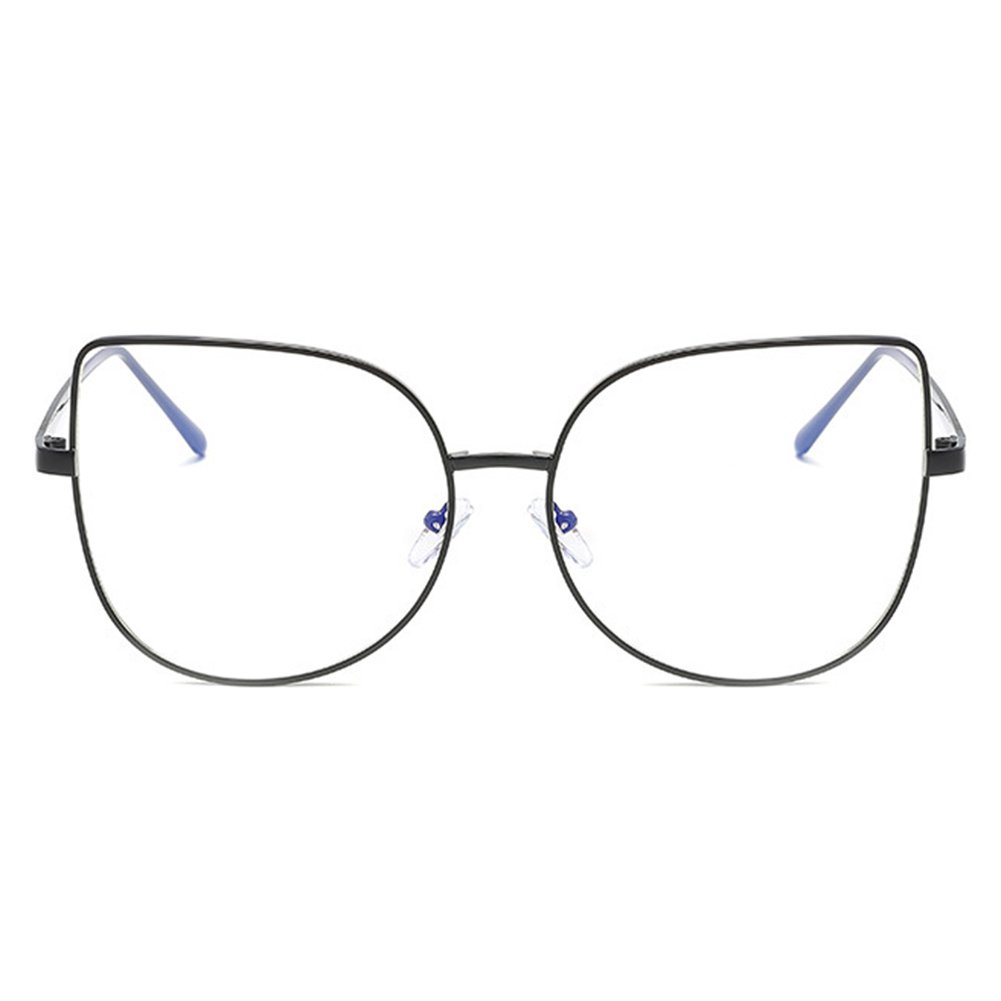 f95fc17d96 Men Women Cat Eye Glasses - Clear Lens Glasses Frame - Fashion Eyeglasses  Eyewear - hibote  122907  Amazon.co.uk  Clothing