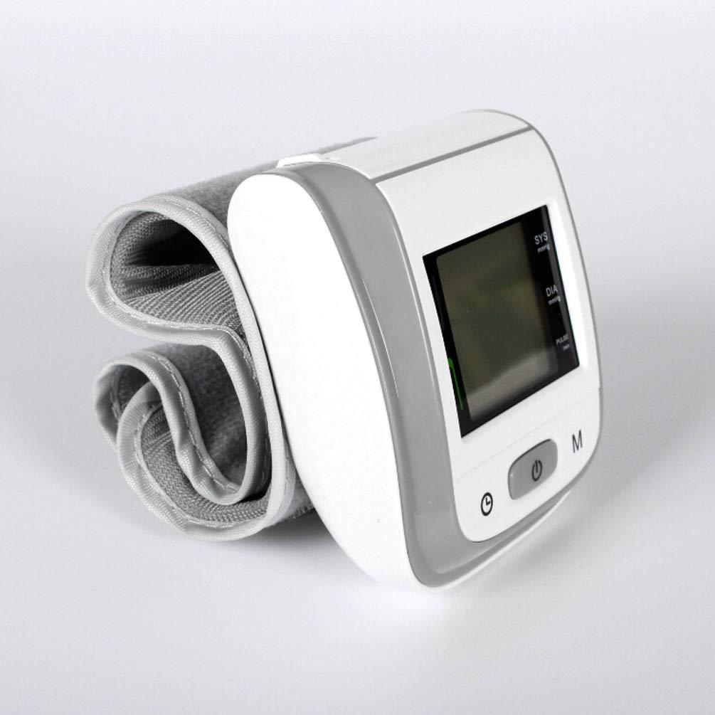 MUSESHOP Tensiomètre au Poignet Électronique, Technologie IntelliSense Double 99 Groupes de Mémoire Grand écran LCD pour Rythme Cardiaque Certifié CE/FDA Mesure du Tension Artérielle