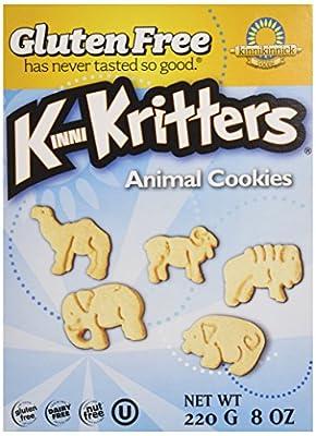 Kinnikinnick Foods, KinniKritters, Animal Cookies, 8 oz (220 g) Kinnikinnick Foods, KinniKritters, Animal Cookies, 8 oz (220 g)