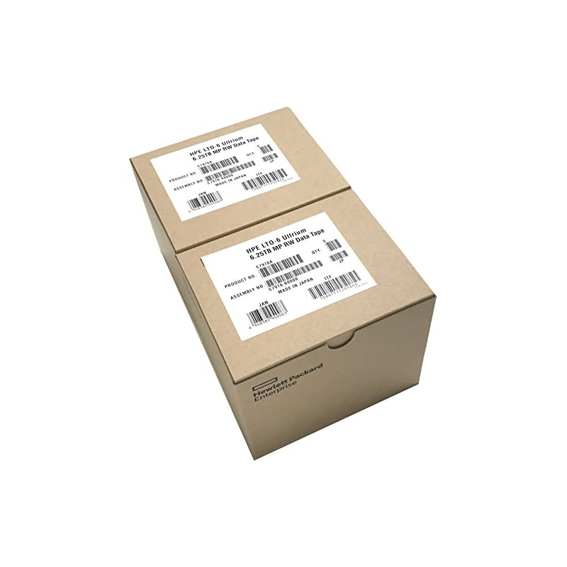 10-Pack HPE LTO 6 Ultrium C7976A (2.5/6.