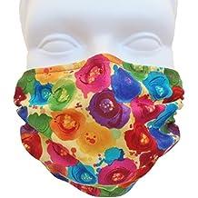 Breathe Healthy Dust, Allergy & Flu Mask - Comfortable, Washable Anti Dust Mask - Filters Dust, Pollen, Allergens, & Flu Germs - Allergy Mask - Ideal for Dog Grooming, Gardening, Sanding; Fantasia Design (Adult)