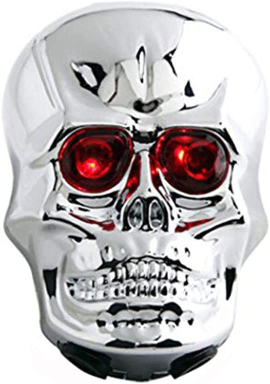 Youshe Waterproof Skull Laser Tail Light Powered by Battery Not Included 2 LED Lamp bead 6 Flash Modes Bike Bicycle Safety Back Rear Light Novel Style Great for Cycling Trip