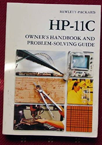 hp 11c owner s handbook and problem solving guide hewlett packard rh amazon com HP User Manuals hp 11c calculator user manual