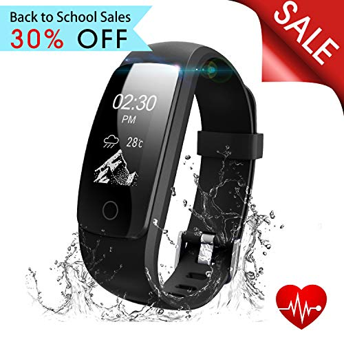 runme Fitness Tracker with Heart Rate Monitor, Activity Tracker Smart Watch with Sleep Monitor, IP67 Water Resistant Walking Pedometer with Call/SMS Remind for iOS/Android – DiZiSports Store