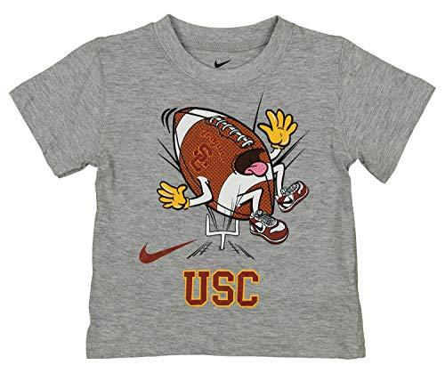(Outerstuff NCAA Baby USC Trojans Touchdown Tee, Grey, 24 Months)