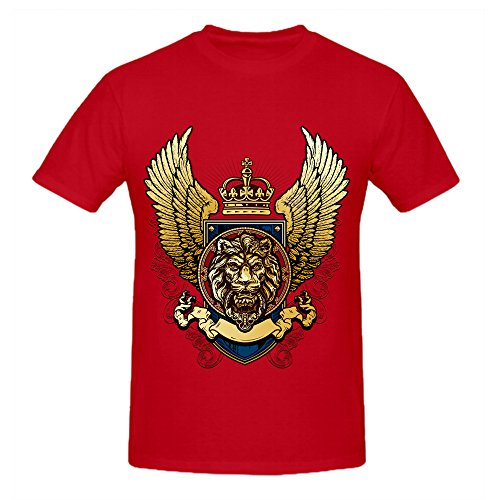 100% Cotton Black Lion King Mens Summer Fashion DIY Tops Tees Short Sleeve T Shirt Man Punk Style O Neck Casual T Shirt