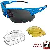 VeloChampion Tornado Sunglasses - Sky Blue