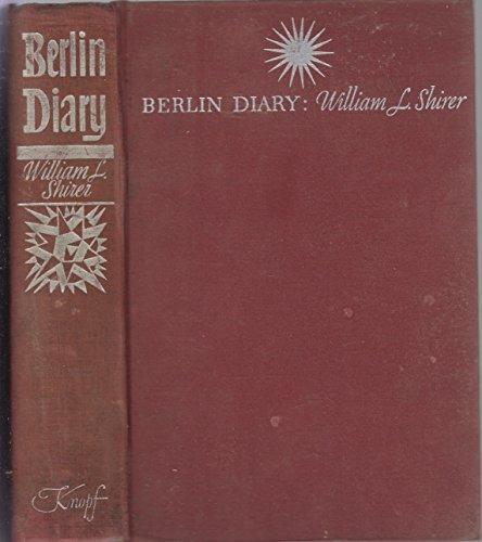 BERLIN DIARY; 1939-1941