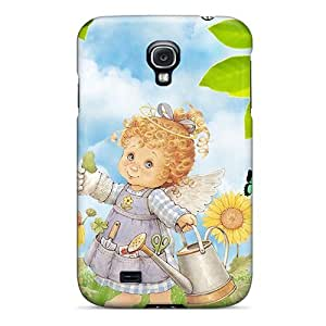 High Quality DustinHVance Summers Angel Skin Case Cover Specially Designed For Galaxy - S4