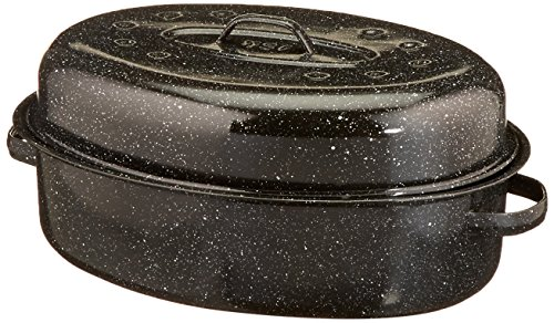 Granite Ware 18-Inch Covered Oval Roaster by Columbian Home (Image #1)