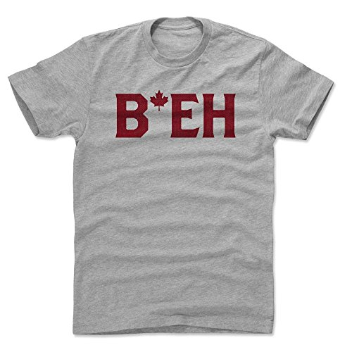 500 LEVEL's Canada Beh R Men's Cotton T-Shirt XXXL Heather Gray - Canada Apparel & Merchandise (Canada Merchandise)