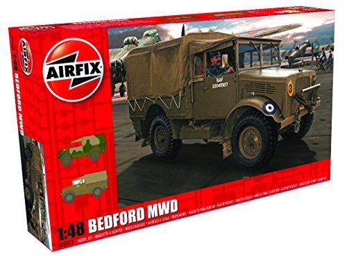 Airfix Bedford MWD Light Truck 1:48 Plastic Model Kit