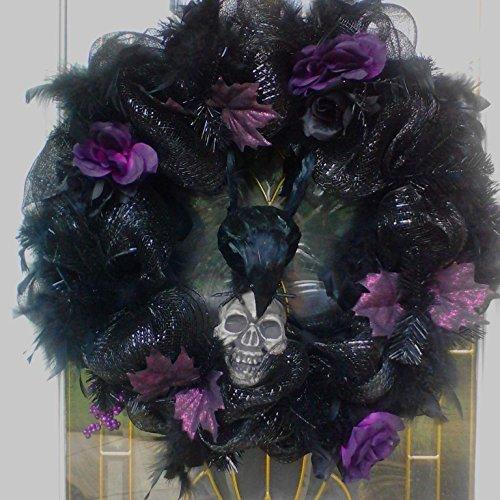 (Spooky Halloween Wreath)