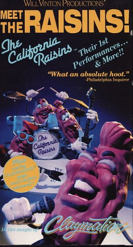 California Raisins - Meet the Raisins [VHS]