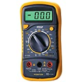 PYLE PDMT29 Digital LCD AC, DC, Volt, Current, Resistance & Range Multimeter with Rubber Case & Stand electronic consumer