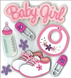 Jolee's Boutique Dimensional Stickers, Baby Girl