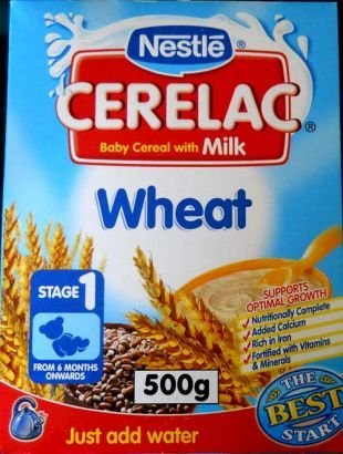 Ceralac Wheat 500g STAGE Nestle