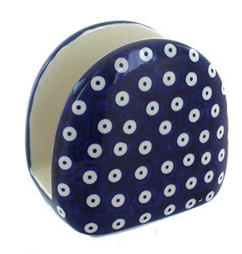 polish-pottery-dots-napkin-holder