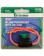 Littelfuse 0FHA0030XP ACS ATO HD Carded Inline Fuse Holder with 30 Amp Fuse