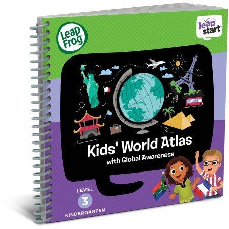 LeapFrog LeapStart Interactive Learning System for Kindergarten & 1st Grade, Exclusive Purple + Level 3 LeapStart Activity Book Bundle, Kids Educational Books, Learn Basic Concepts, Kids Gift Set by LeapFrog (Image #5)