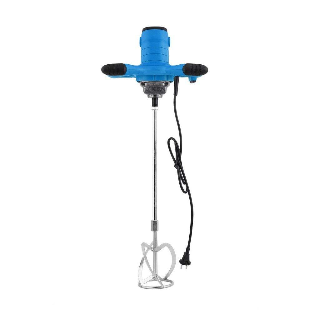con Miscelatore per Malta Hehilark Miscelatore per Malta 1200 W Blu 930 r//min 50//60 Hz Miscelatore Manuale Miscelatore per Cemento