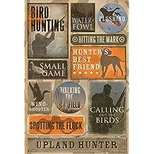 Karen Foster Design Acid and Lignin Free Scrapbooking Sticker Sheet, Bird Hunting