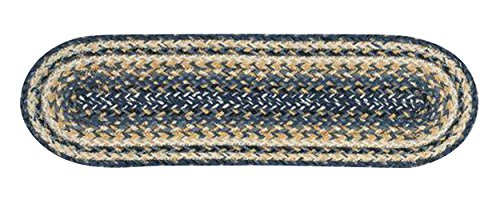 Earth Rugs 19-9-97 Stairtread, 27x8.25x0.17, Deep Blue from Earth Rugs