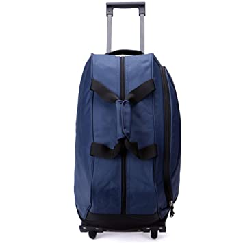 9aa4bdbeda00 Ultralight Travel Carrying Trolley Tote - Cabin Luggage Suitcase ...