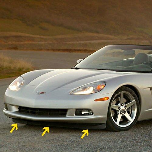 C6 Corvette Front Lower Complete Spoiler 3 Sections Fits 05 through 13 Corvettes MIDWEST CORVETTE 648-257