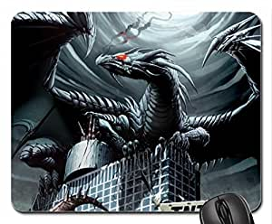 dark dragon Mouse Pad, Mousepad (10.2 x 8.3 x 0.12 inches)