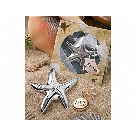 Starfish Design Bottle Opener (Set of 6)