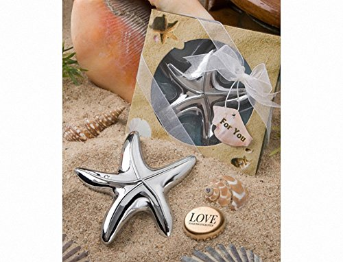 Starfish Design Bottle Opener Set