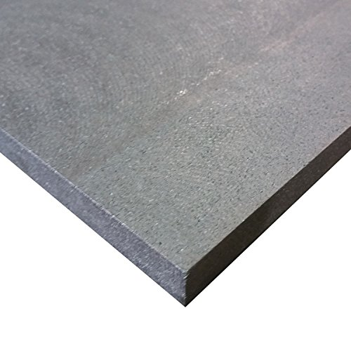 Online Plastic Supply Graphite Plate 1/2