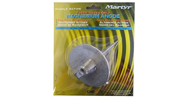 Amazon.com: Martyr CM31640KITM, Magnesium Alloy Mercury Anode Kit: Sports & Outdoors