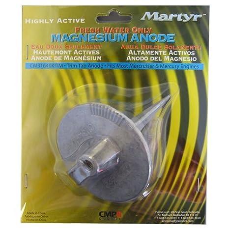 Martyr CM31640KITM, Magnesium Alloy Mercury Anode Kit