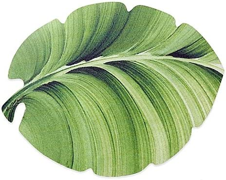 Amazon Com Tropical Leaf Laminated Placemat Home Kitchen