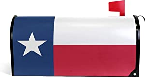 Oarencol Texas State Flag Mailbox Covers Magnetic Garden Yard Home Decor Standard Size 21